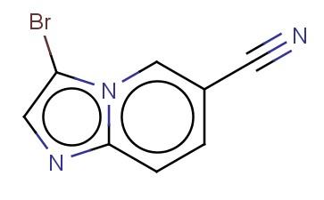 3-BROMOIMIDAZO[1,2-A]PYRIDINE-6-CARBONITRILE
