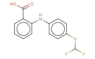 [N-(4-(DIFLUOROMETHYLTHIO)PHENYL)]ANTHRANILIC ACID