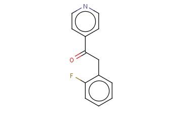 2-(2-FLUOROPHENYL)-1-(4-PYRIDINYL)-ETHANONE