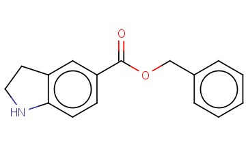 BENZYL 2,3-DIHYDRO-1H-INDOLE-5-CARBOXYLATE
