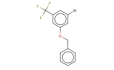 1-(BENZYLOXY)-3-BROMO-5-TRIFLUOROMETHYLBENZENE