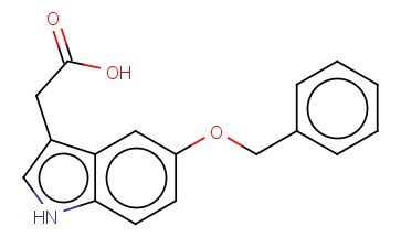 5-Benzyloxyindole-3-acetic acid