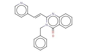 (E)-3-BENZYL-2-(2-(PYRIDIN-3-YL)VINYL)QUINAZOLIN-4(3H)-ONE