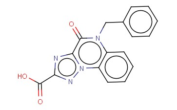 5-BENZYL-4-OXO-4,5-DIHYDRO[1,2,4]TRIAZOLO[1,5-A]QUINOXALINE-2-CARBOXYLIC ACID