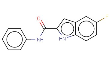 1H-INDOLE-2-CARBOXAMIDE,5-FLUORO-N-PHENYL-