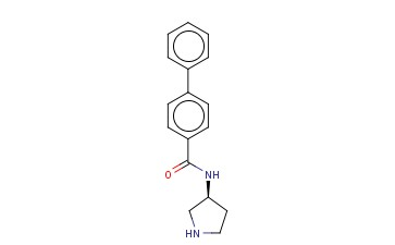 N-(3S)-3-PYRROLIDINYL-[1,1'-BIPHENYL]-4-CARBOXAMIDE