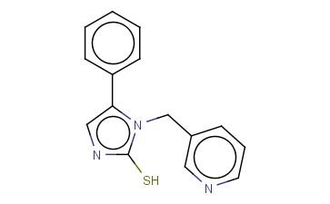 5-PHENYL-1-(PYRIDIN-3-YLMETHYL)-1H-IMIDAZOLE-2-THIOL