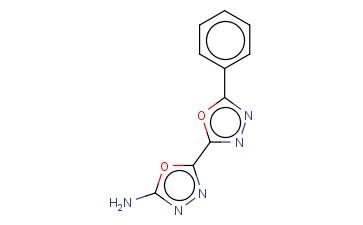 5'-PHENYL-2,2'-BI-1,3,4-OXADIAZOL-5-AMINE