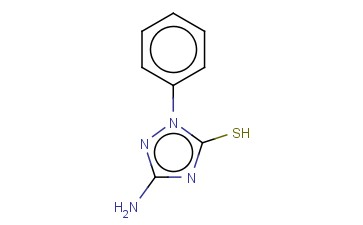 3-AMINO-1-PHENYL-1H-1,2,4-TRIAZOLE-5-THIOL