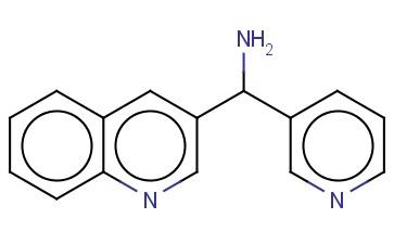 PYRIDIN-3-YL(QUINOLIN-3-YL)METHANAMINE