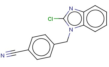 4-((2-CHLORO-1H-BENZO[D]IMIDAZOL-1-YL)METHYL)BENZONITRILE