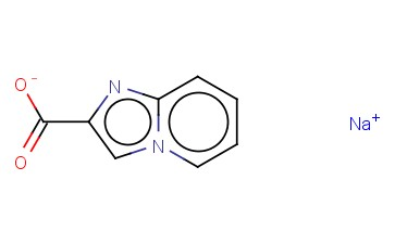 <span class='lighter'>SODIUM</span> IMIDAZO[<span class='lighter'>1,2</span>-A]PYRIDINE-2-CARBOXYLATE