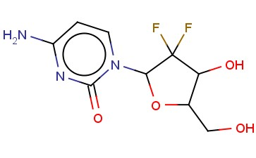 4-AMINO-1-(3,3-DIFLUORO-4-HYDROXY-5-(HYDROXYMETHYL)OXOLAN-2-YL)PYRIMIDIN-2-ONE