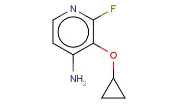 3-CYCLOPROPOXY-2-FLUOROPYRIDIN-4-AMINE