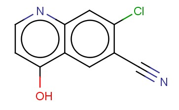 7-CHLORO-4-HYDROXYQUINOLINE-6-CARBONITRILE